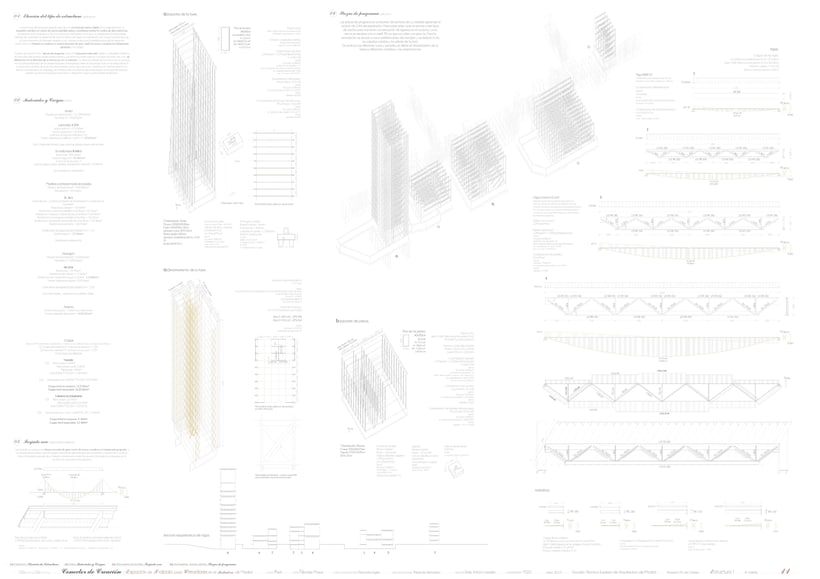 Creation Conector! | Working space for creatives in an old industrial site in Madrid, majoring in sustainable design | ETSAM 2015 | Final architectural thesis 10