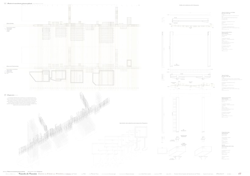 Creation Conector! | Working space for creatives in an old industrial site in Madrid, majoring in sustainable design | ETSAM 2015 | Final architectural thesis 11