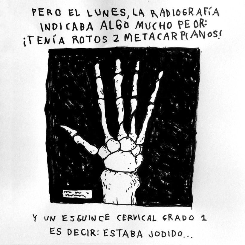 Diario ilustrado de mi mano derecha según la izquierda 5