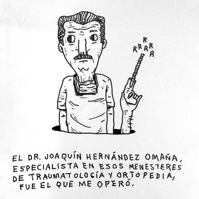 Diario ilustrado de mi mano derecha según la izquierda 12