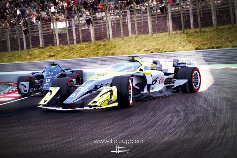 2016 - F1 concept car 1