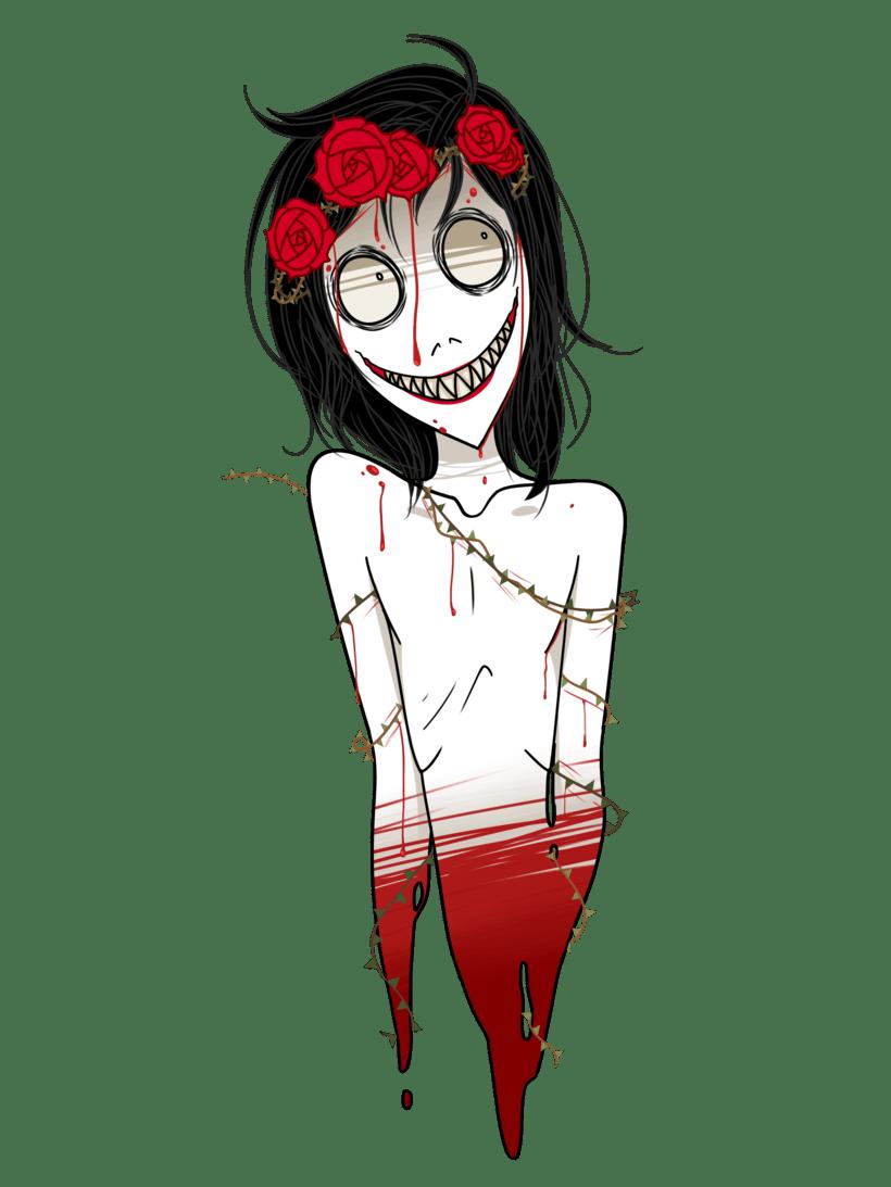 Dibujos de personajes de internet para Halloween, diseñados para stickers/camisetas/etc 0