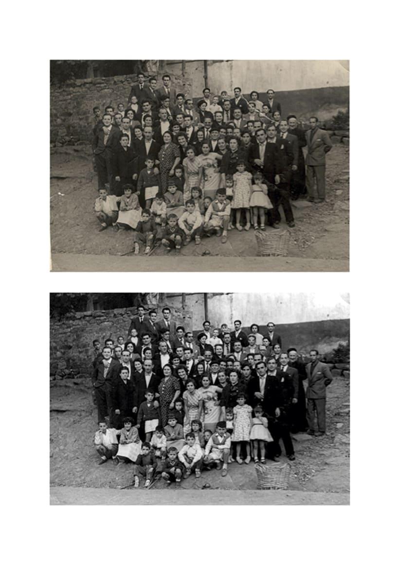 Restauración fotográfica 1