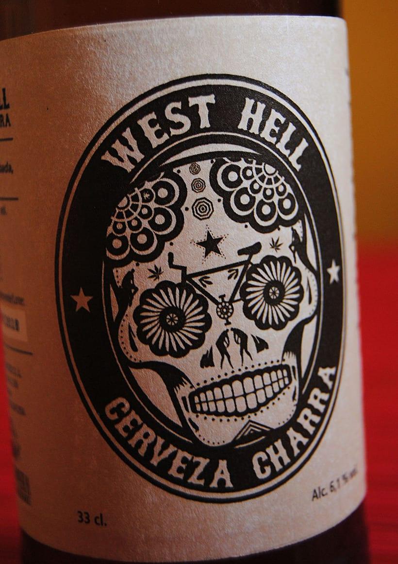 West Hell. Cerveza Charra 0
