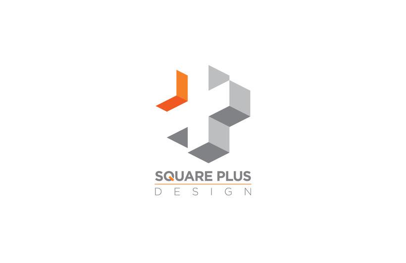 Diseño del logo para Square Plus / Diseño de interiores 3