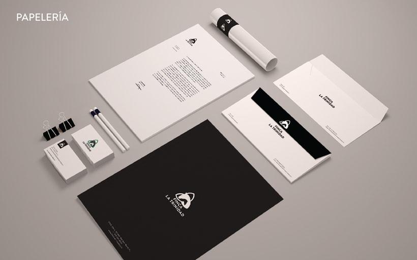 Finca la Trinidad. Diseño e imagen corporativa. 9