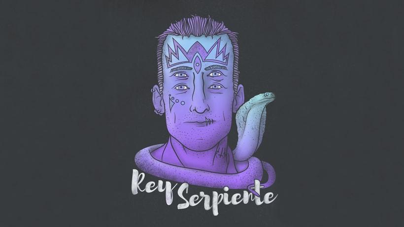 Rey Serpiente Ilustración 0