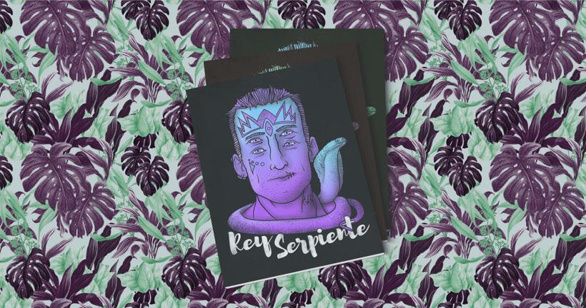 Rey Serpiente Ilustración 1