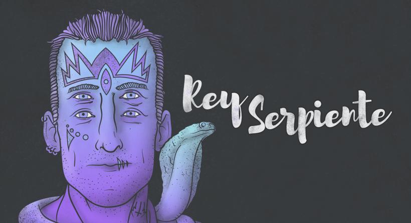 Rey Serpiente Ilustración 2