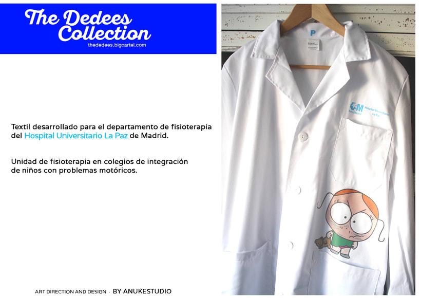 The Dedees Collection · Textil desarrollado para la Unidad de fisioterapia en colegios de integración de niños con problemas motoricos. -1