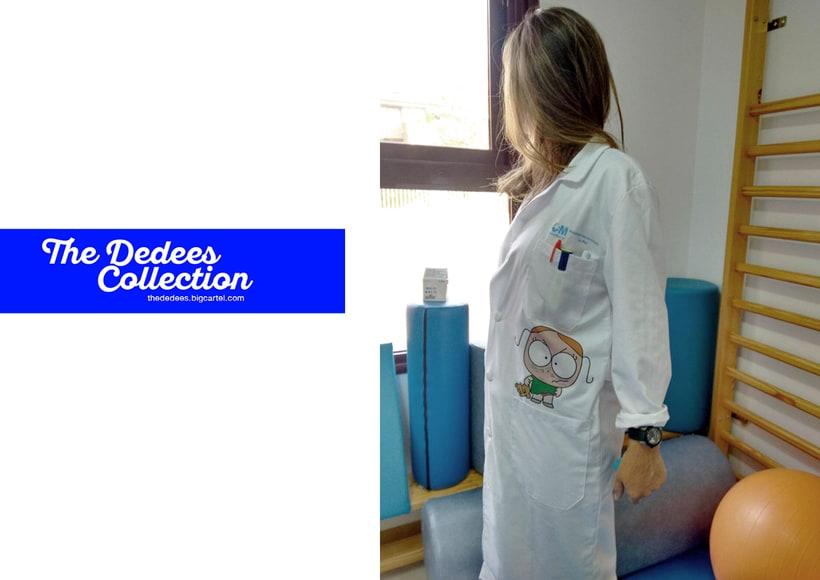 The Dedees Collection · Textil desarrollado para la Unidad de fisioterapia en colegios de integración de niños con problemas motoricos. 1