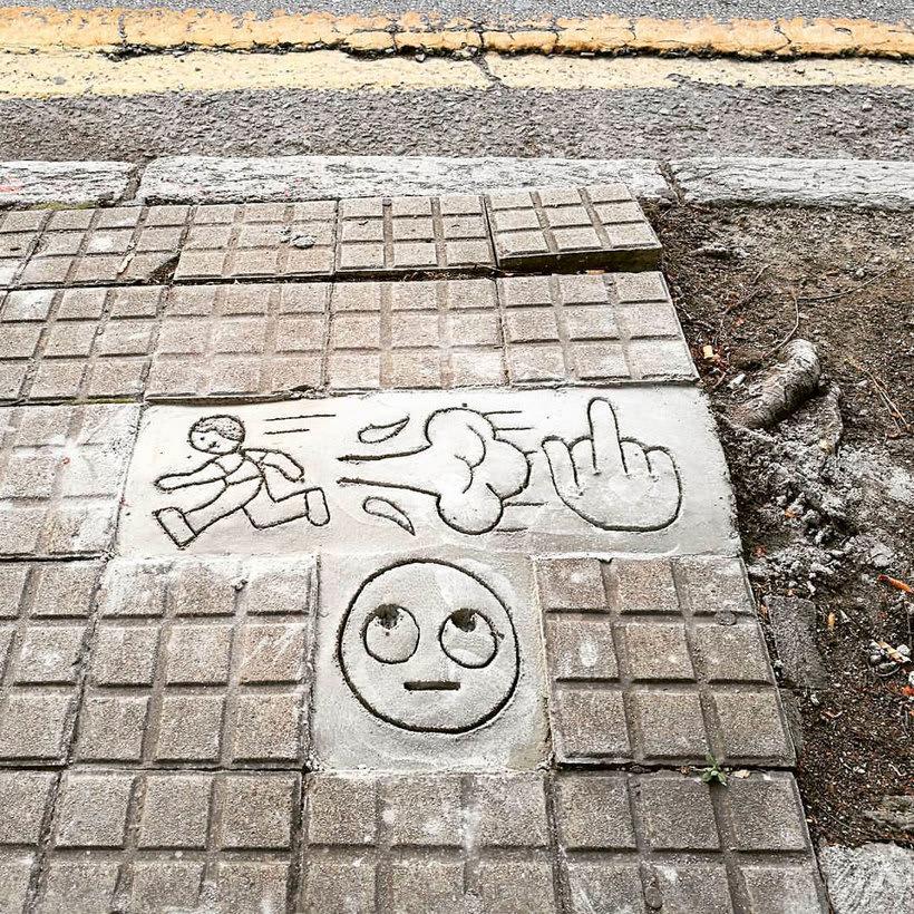Arte urbano primigenio de la mano de 3ttman 18