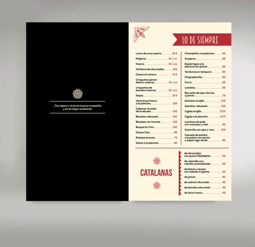 Carta restaurante 0