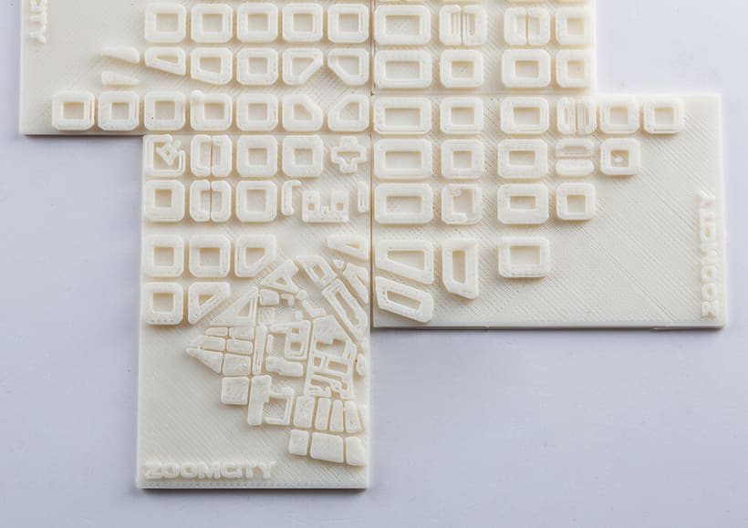 3D Printing Tarjetas ZoomCity 5