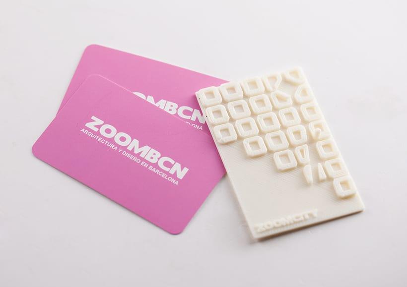 3D Printing Tarjetas ZoomCity 0