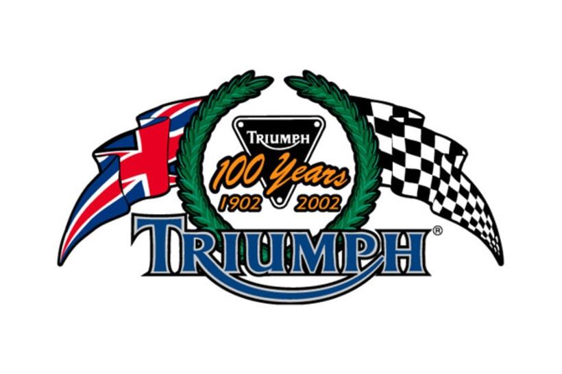 Logotipo Triumph pintumoto  1