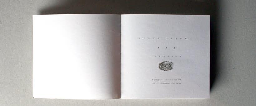 Catálogo de exposición Identity Box 1