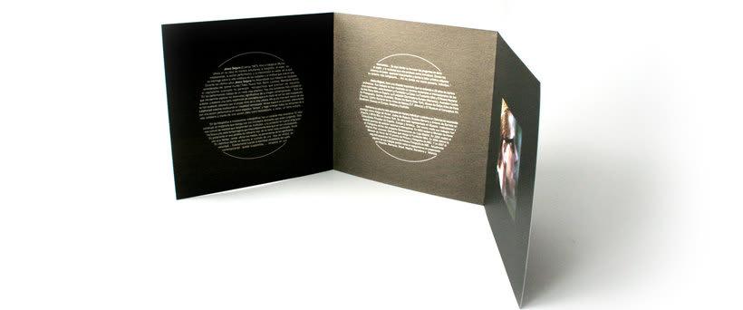 Catálogo y trípticos de la Exposición STÉREO de Jesús Segura 10