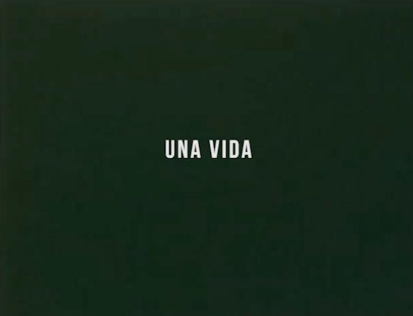 Ensayos / Una vida. 0