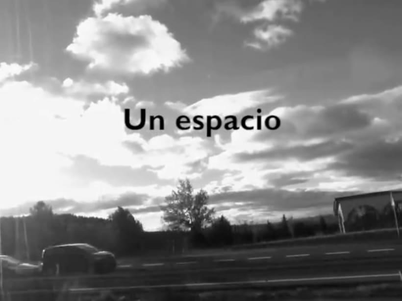 Ensayos / Un espacio. 0