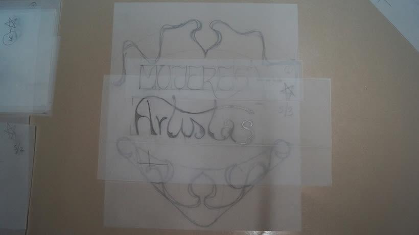 Mi Proyecto del curso 'Lettering': Mujeres Artistas 7