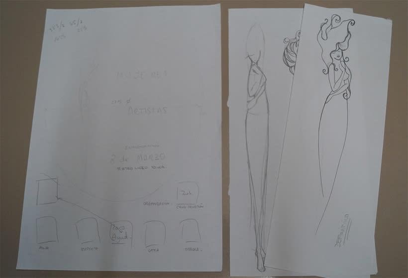 Mi Proyecto del curso 'Lettering': Mujeres Artistas 9