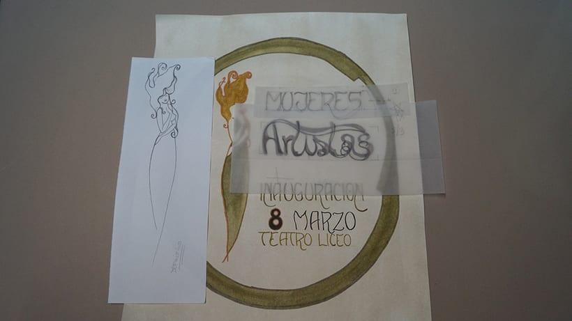 Mi Proyecto del curso 'Lettering': Mujeres Artistas 11