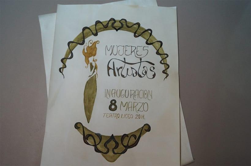 Mi Proyecto del curso 'Lettering': Mujeres Artistas 13