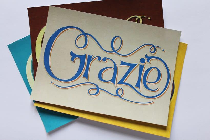 Grazie: Los secretos dorados del lettering 4