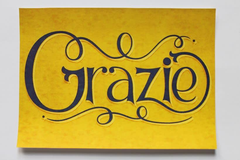 Grazie: Los secretos dorados del lettering 6