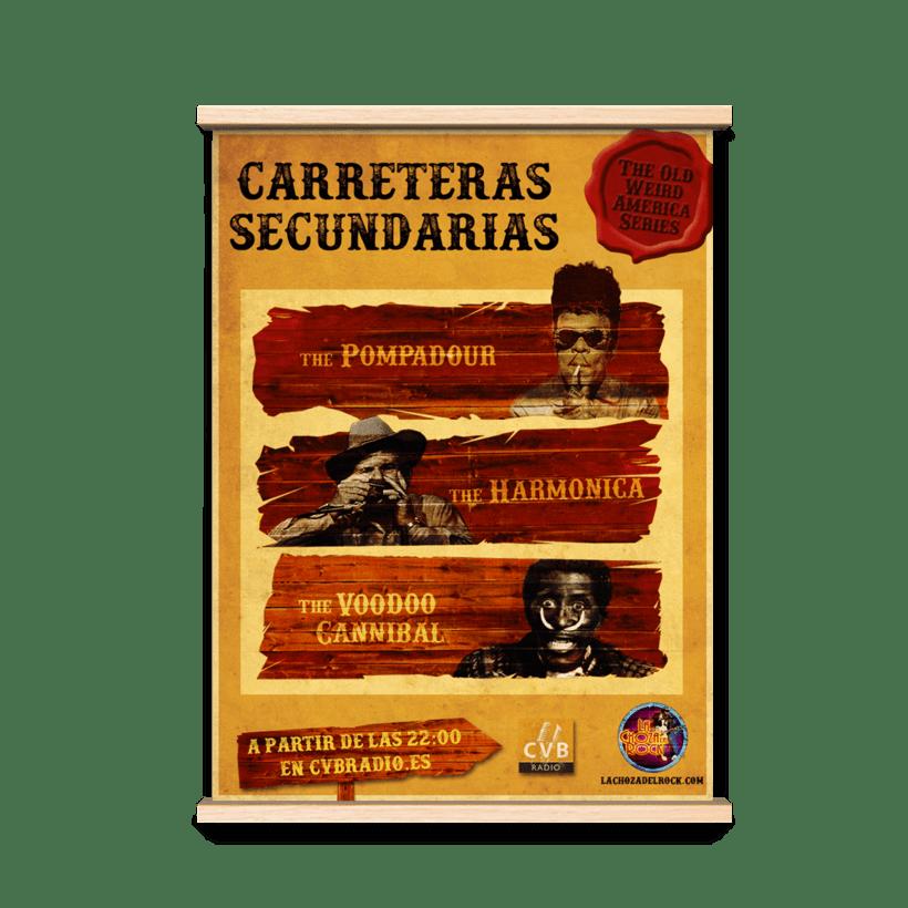 Carteles Promocionales radio 2