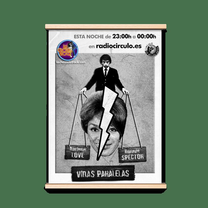 Carteles Promocionales radio 3