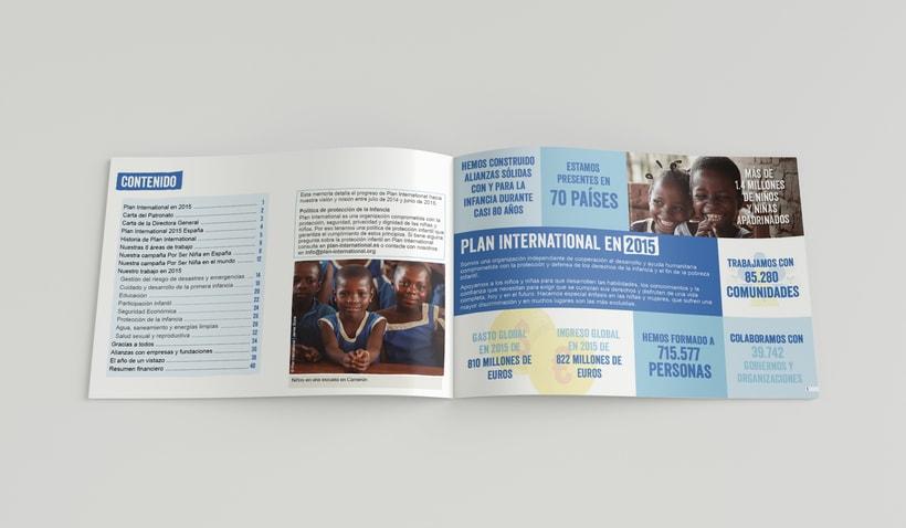 Memoria Anual 2015 Plan International 1