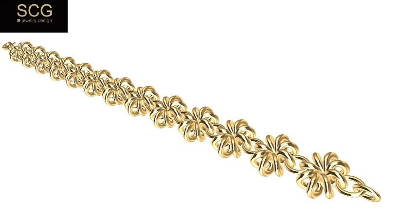 Gold bracelet -1