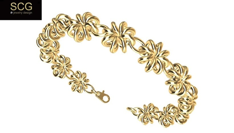 Gold bracelet 0