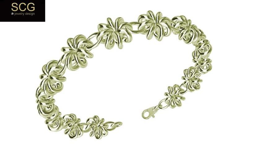 Gold bracelet 2