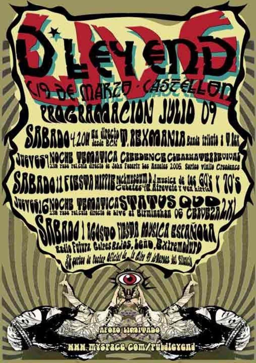 Carteleria D'leyend 2007-09 2