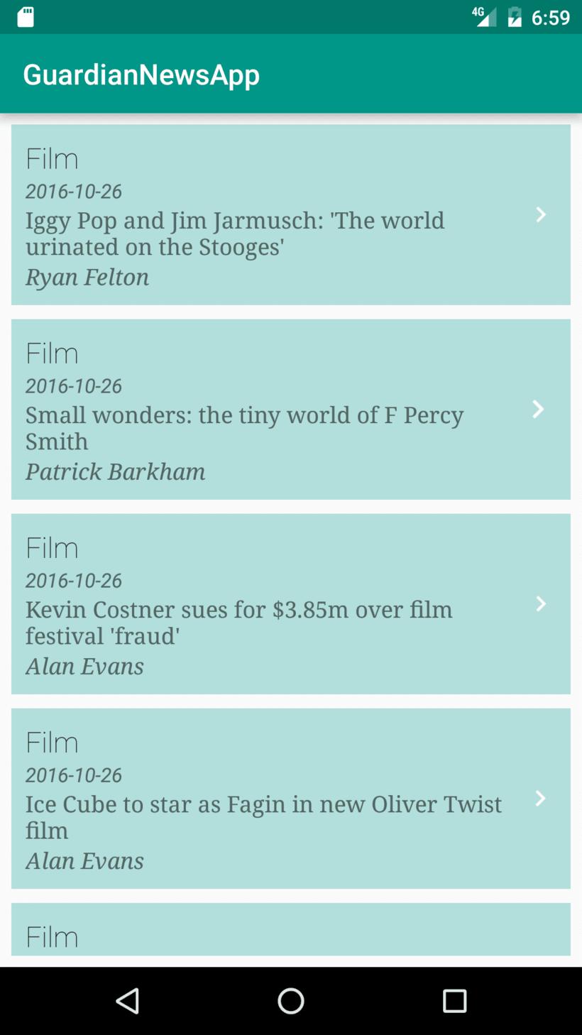 Guardian News App 0