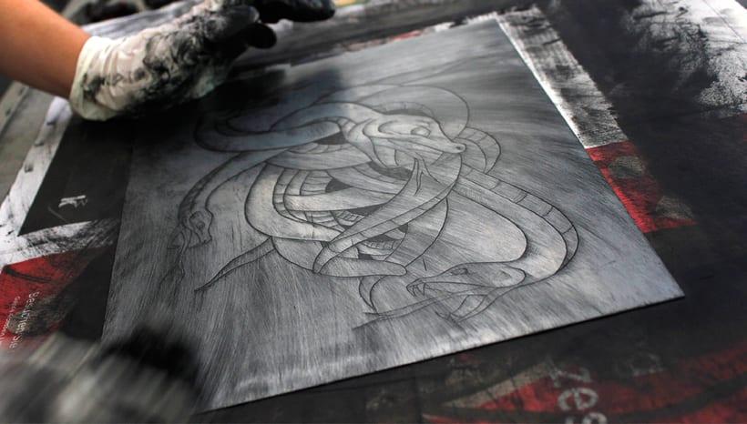 Heart engraved serie 1