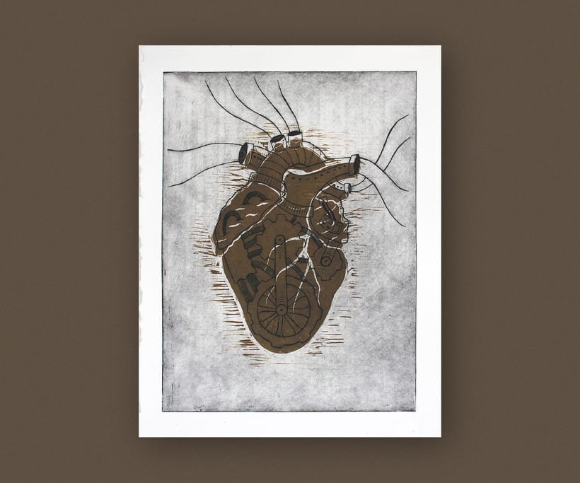 Heart engraved serie 5