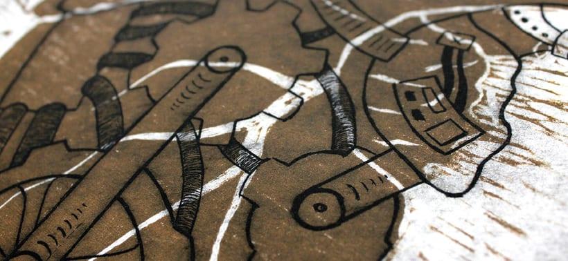 Heart engraved serie 6