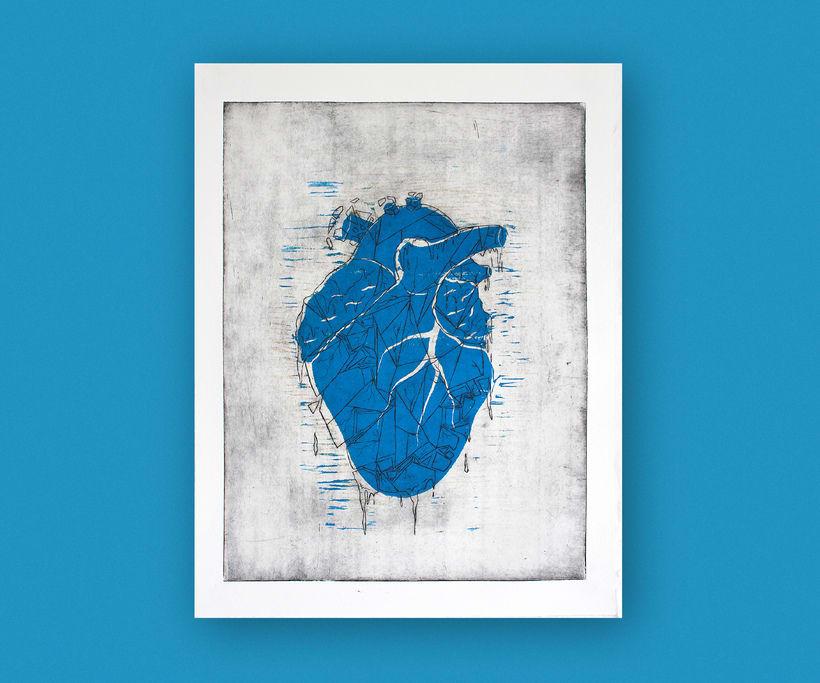 Heart engraved serie 9