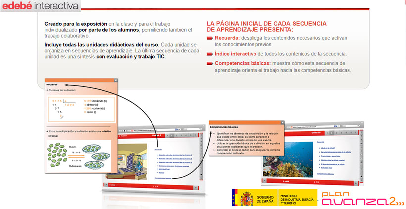 Maquetación libros interactivos escolares Ed. Edebé -1