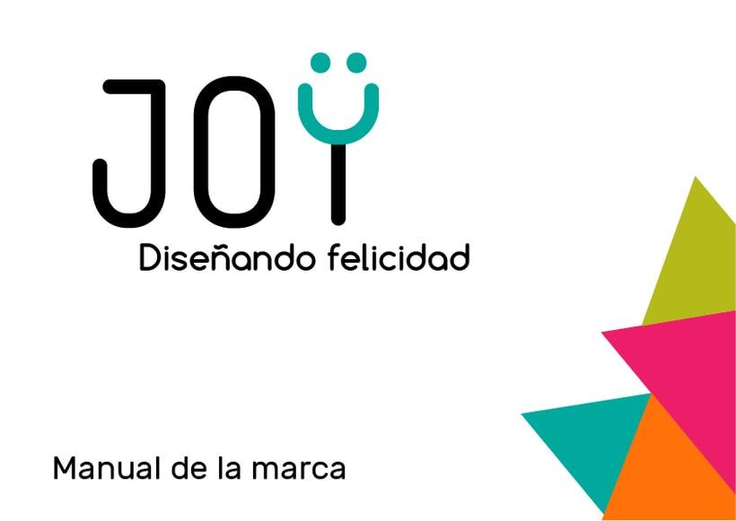 JOY (diseño de identidad corporativa para web) 0