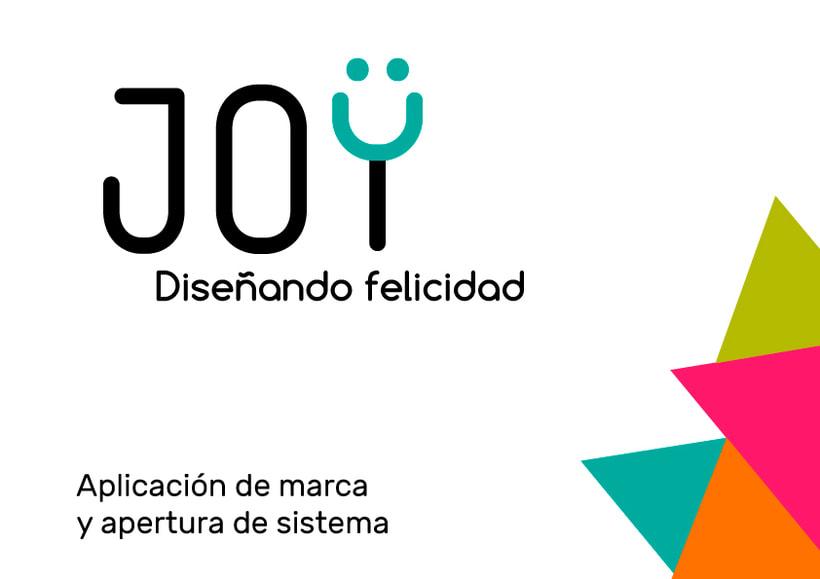 JOY (diseño de identidad corporativa para web) 5