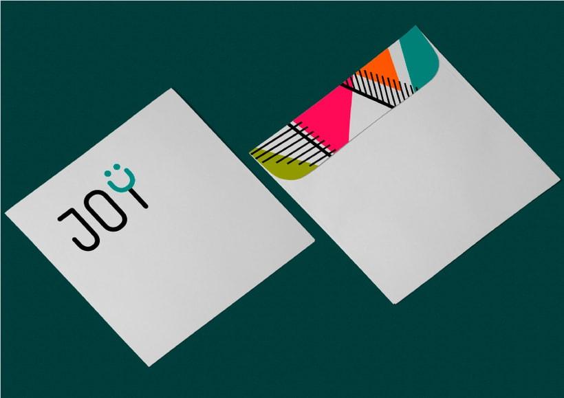JOY (diseño de identidad corporativa para web) 7