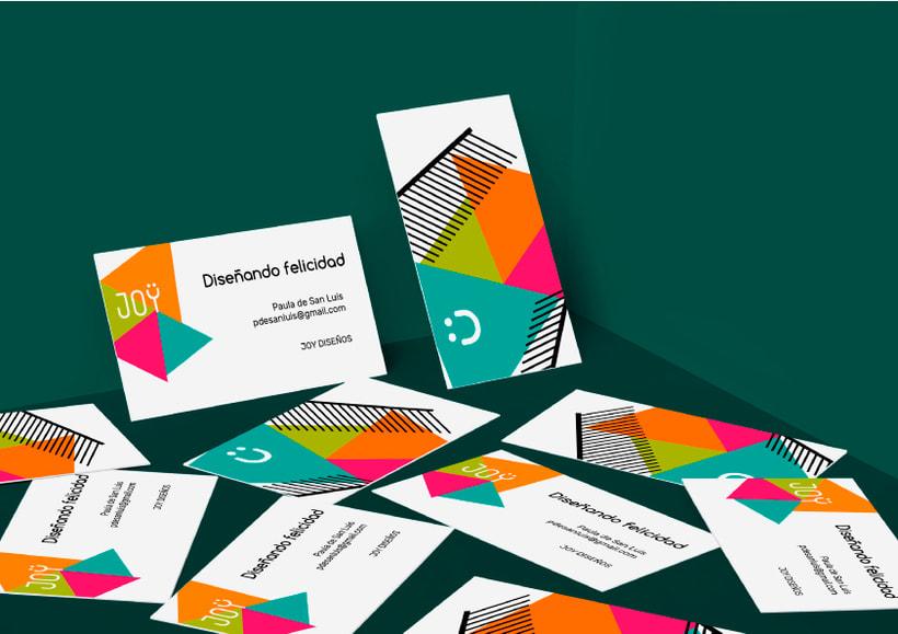 JOY (diseño de identidad corporativa para web) 8