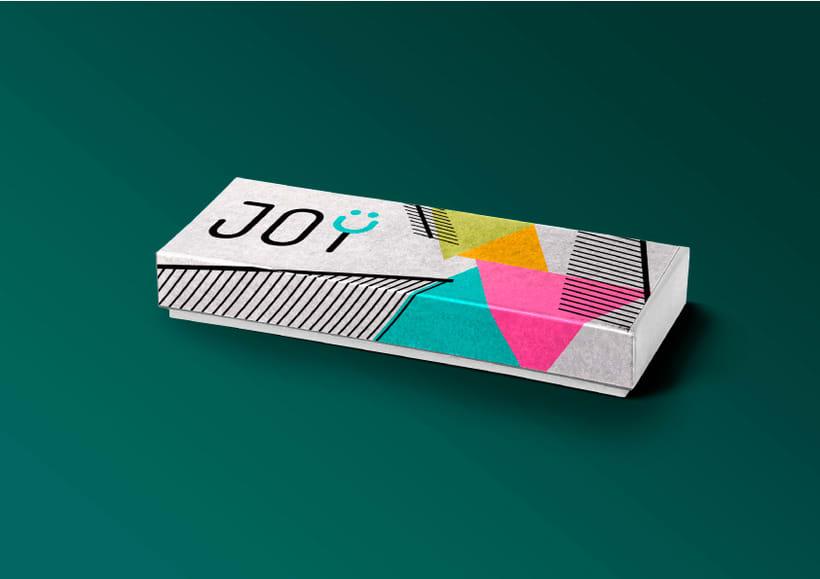 JOY (diseño de identidad corporativa para web) 9