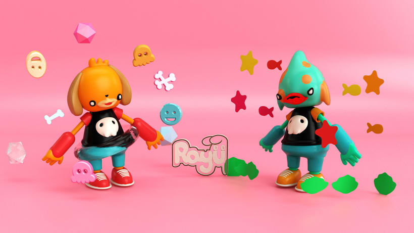 Mi Proyecto del curso: Diseño de personajes en Cinema 4D: del boceto a la impresión 3D 5