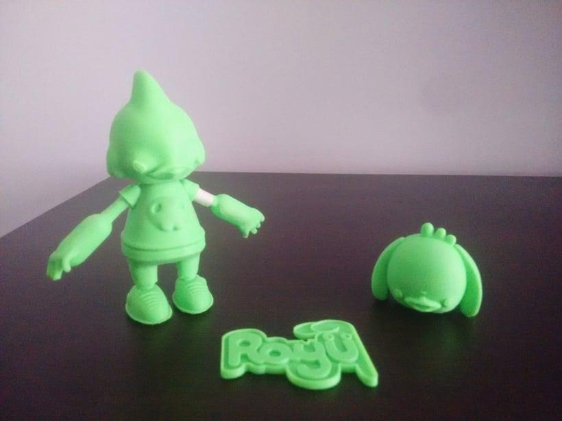 Mi Proyecto del curso: Diseño de personajes en Cinema 4D: del boceto a la impresión 3D 7